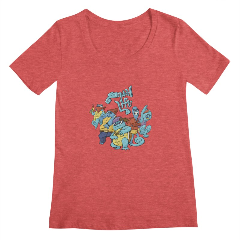 Squad Life Women's Scoopneck by Shannon's Stuff