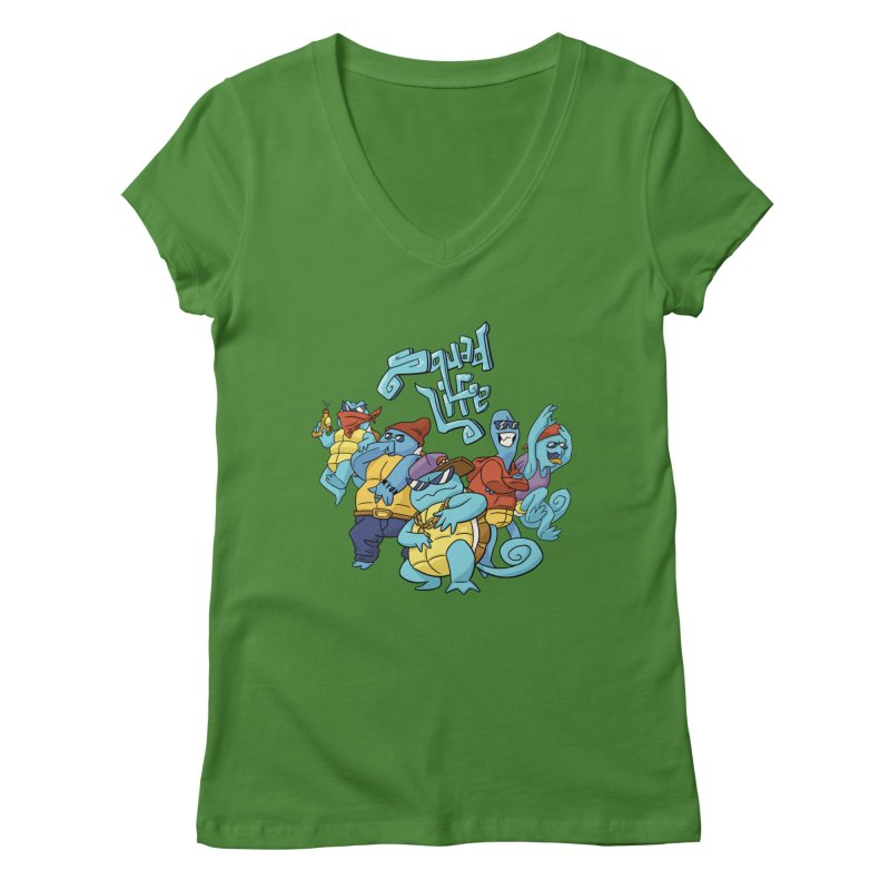 Squad Life Women's V-Neck by Shannon's Stuff