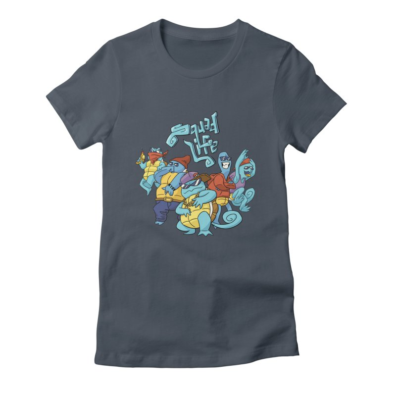 Squad Life Women's Fitted T-Shirt by Shannon's Stuff