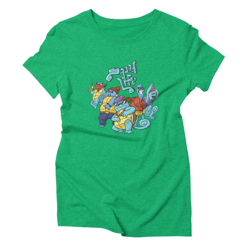 Squad Life Women's Triblend T-shirt by Shannon's Stuff