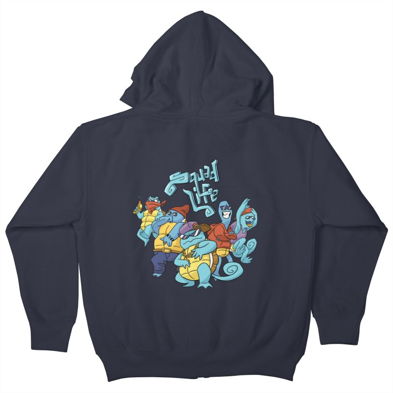Squad Life Kids Zip-Up Hoody by Shannon's Stuff