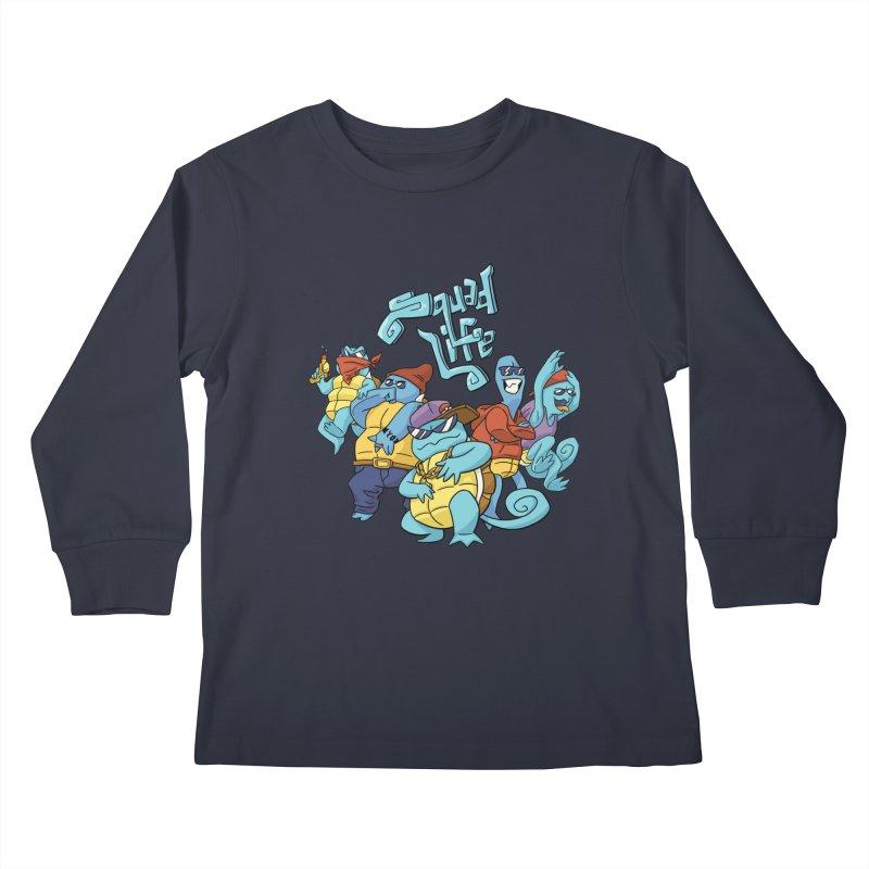 Squad Life Kids Longsleeve T-Shirt by Shannon's Stuff