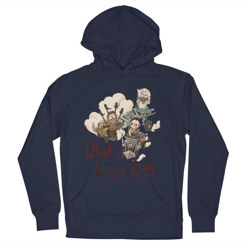 What a Lovely Day Men's Pullover Hoody by Shannon's Stuff