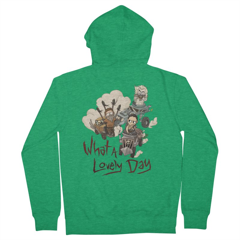 What a Lovely Day Women's French Terry Zip-Up Hoody by Shannon's Stuff