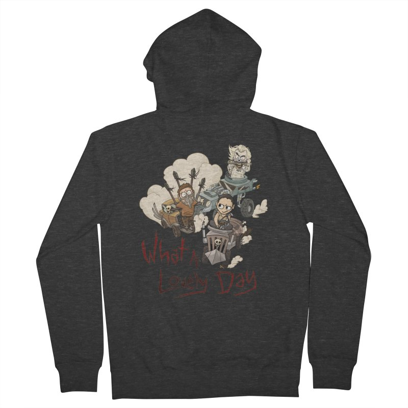 What a Lovely Day Women's Zip-Up Hoody by Shannon's Stuff