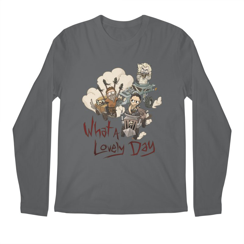 What a Lovely Day Men's Regular Longsleeve T-Shirt by Shannon's Stuff