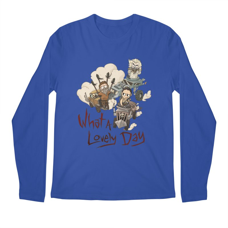 What a Lovely Day Men's Longsleeve T-Shirt by Shannon's Stuff