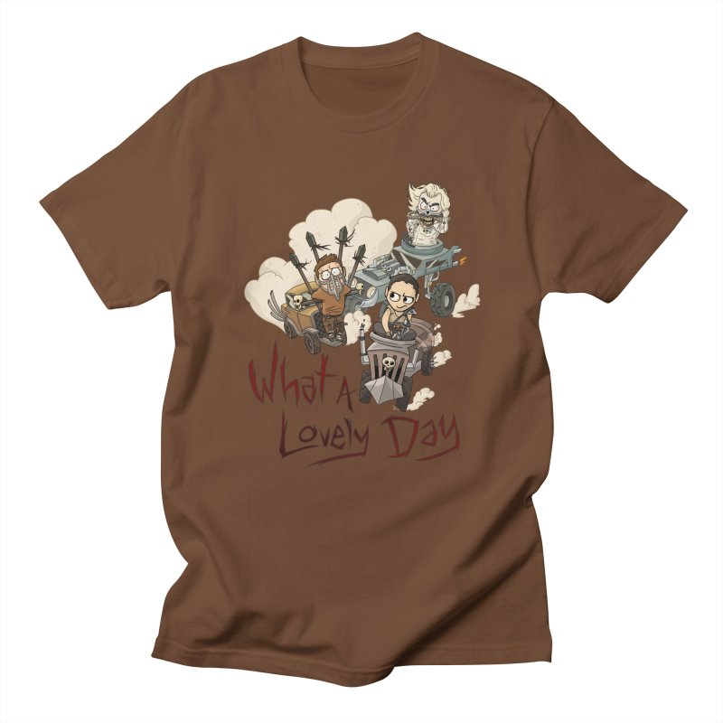 What a Lovely Day Men's T-Shirt by Shannon's Stuff