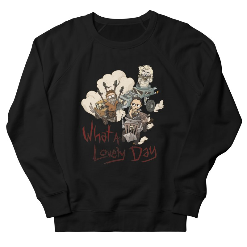 What a Lovely Day Men's French Terry Sweatshirt by Shannon's Stuff