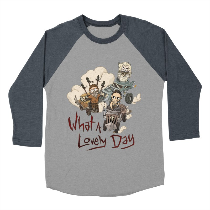 What a Lovely Day Women's Baseball Triblend T-Shirt by Shannon's Stuff