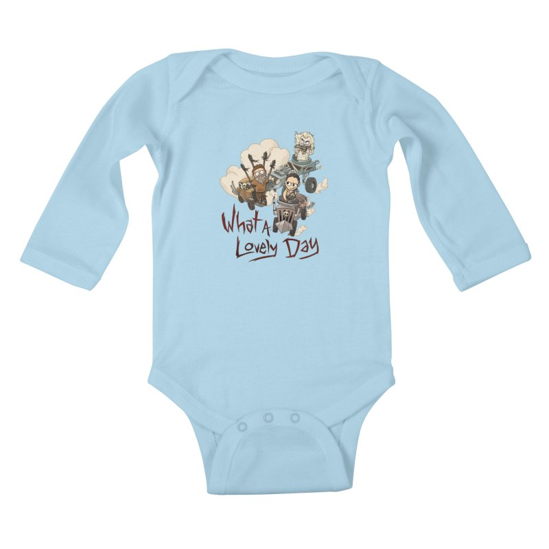 What a Lovely Day Kids Baby Longsleeve Bodysuit by Shannon's Stuff