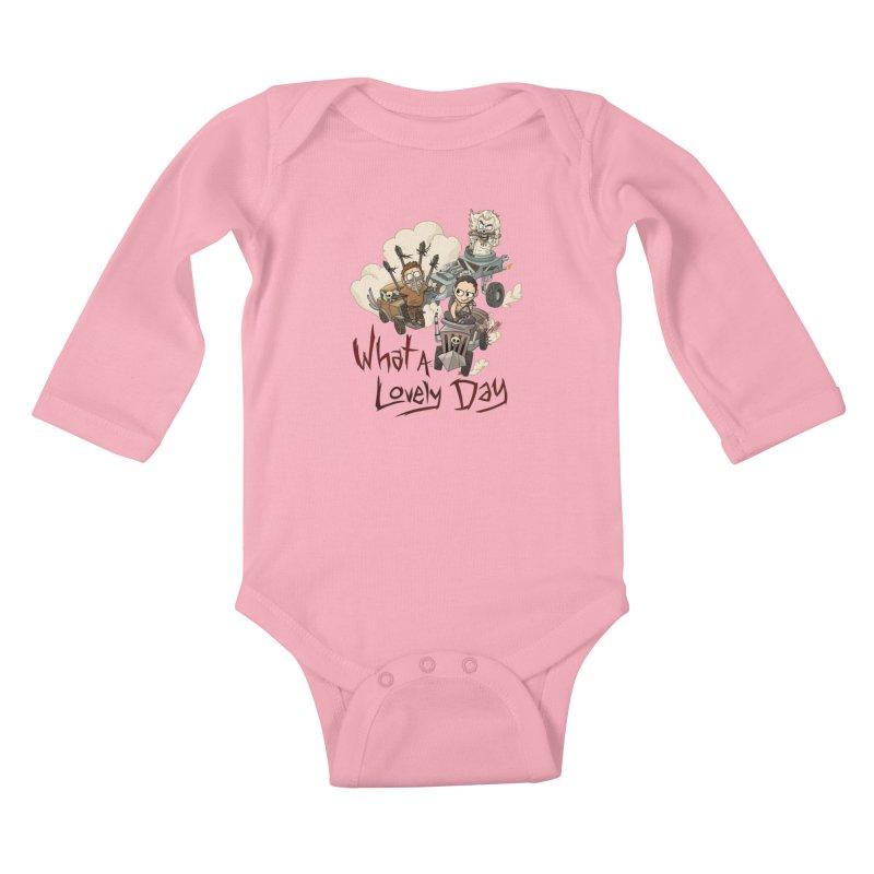 What a Lovely Day Kids Baby Longsleeve Bodysuit by Shannon's Stuff