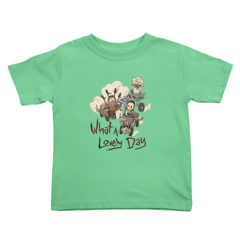 What a Lovely Day Kids Toddler T-Shirt by Shannon's Stuff