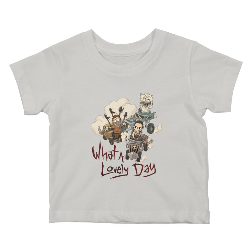 What a Lovely Day Kids Baby T-Shirt by Shannon's Stuff