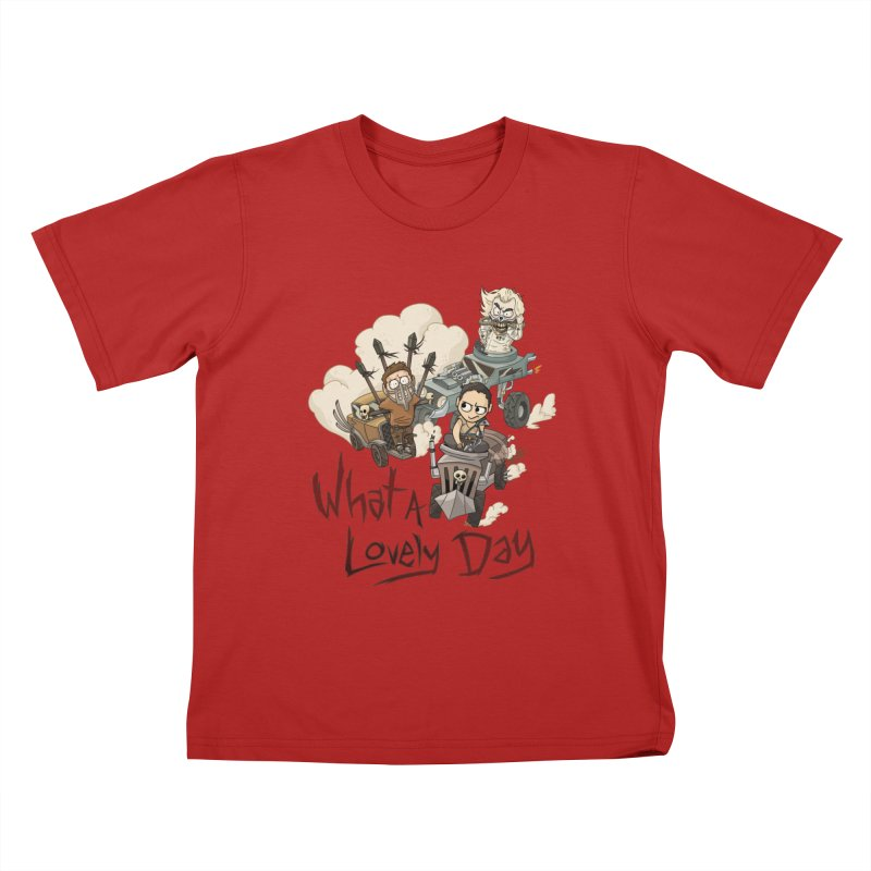 What a Lovely Day Kids T-shirt by Shannon's Stuff