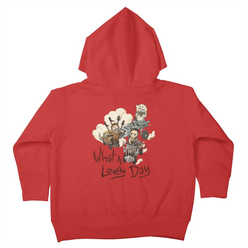 What a Lovely Day Kids Toddler Zip-Up Hoody by Shannon's Stuff