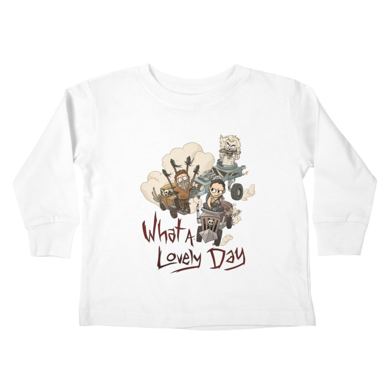 What a Lovely Day Kids Toddler Longsleeve T-Shirt by Shannon's Stuff