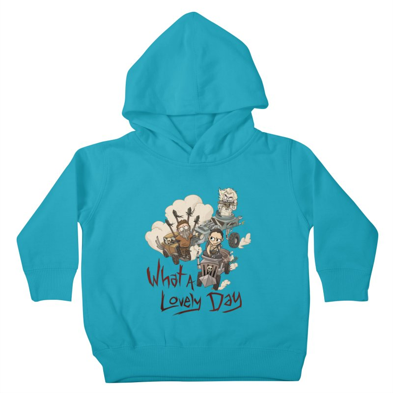 What a Lovely Day Kids Toddler Pullover Hoody by Shannon's Stuff