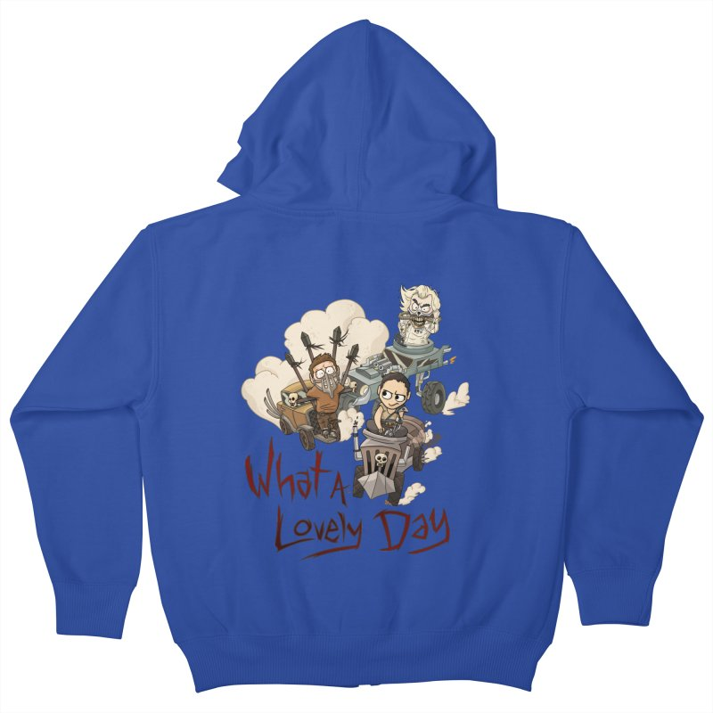 What a Lovely Day Kids Zip-Up Hoody by Shannon's Stuff