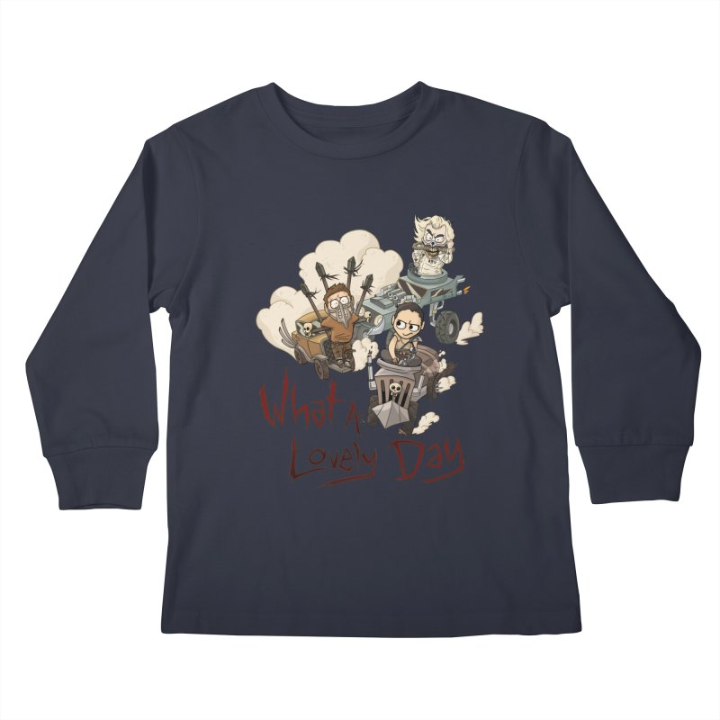 What a Lovely Day Kids Longsleeve T-Shirt by Shannon's Stuff