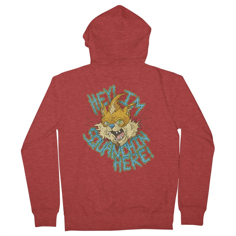 Squanchin' Here! Men's French Terry Zip-Up Hoody by Shannon's Stuff