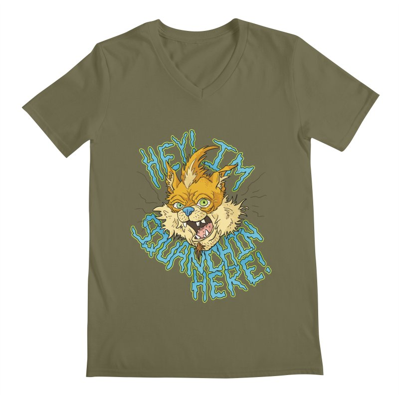 Squanchin' Here! Men's V-Neck by Shannon's Stuff