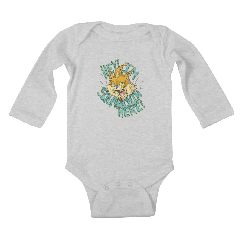 Squanchin' Here! Kids Baby Longsleeve Bodysuit by Shannon's Stuff