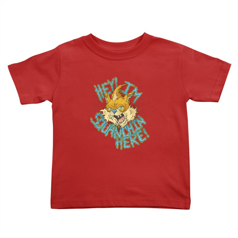Squanchin' Here! Kids Toddler T-Shirt by Shannon's Stuff