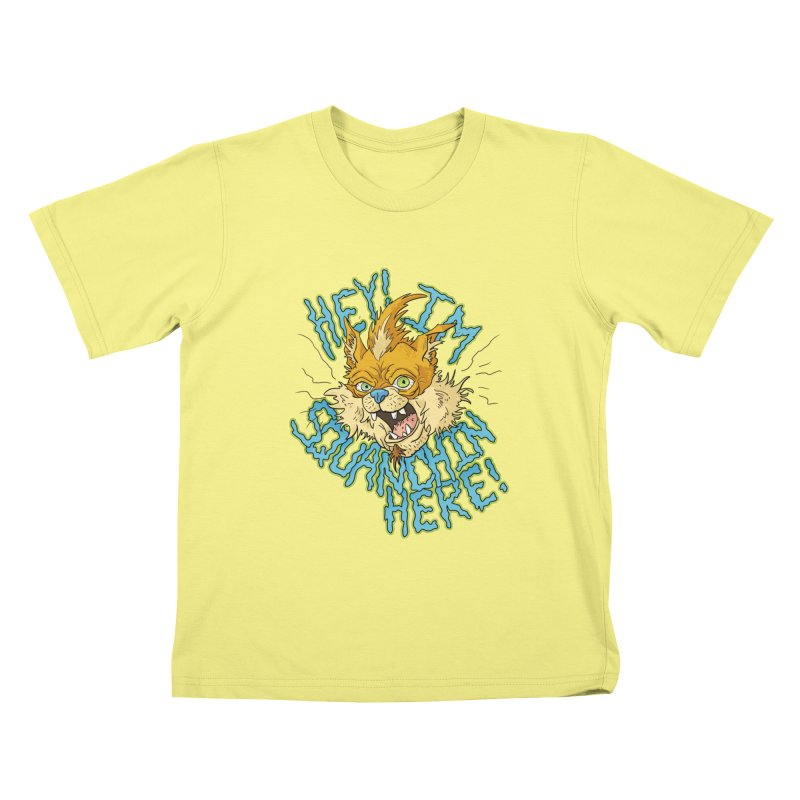 Squanchin' Here! Kids T-shirt by Shannon's Stuff