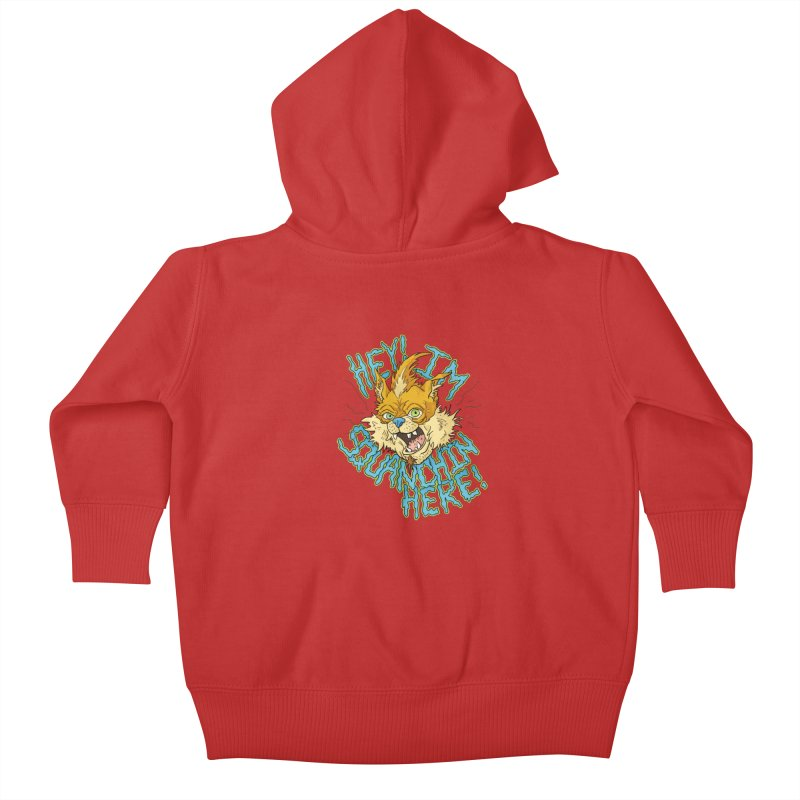 Squanchin' Here! Kids Baby Zip-Up Hoody by Shannon's Stuff
