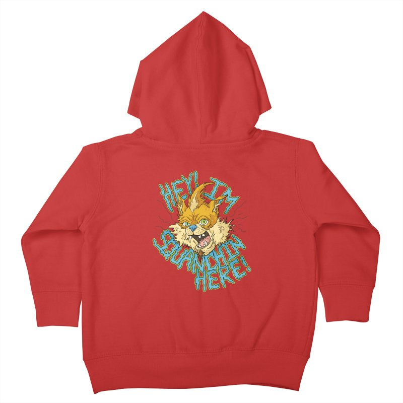 Squanchin' Here! Kids Toddler Zip-Up Hoody by Shannon's Stuff