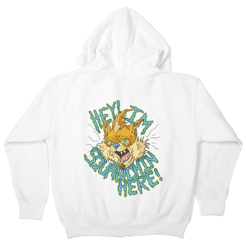 Squanchin' Here! Kids Zip-Up Hoody by Shannon's Stuff