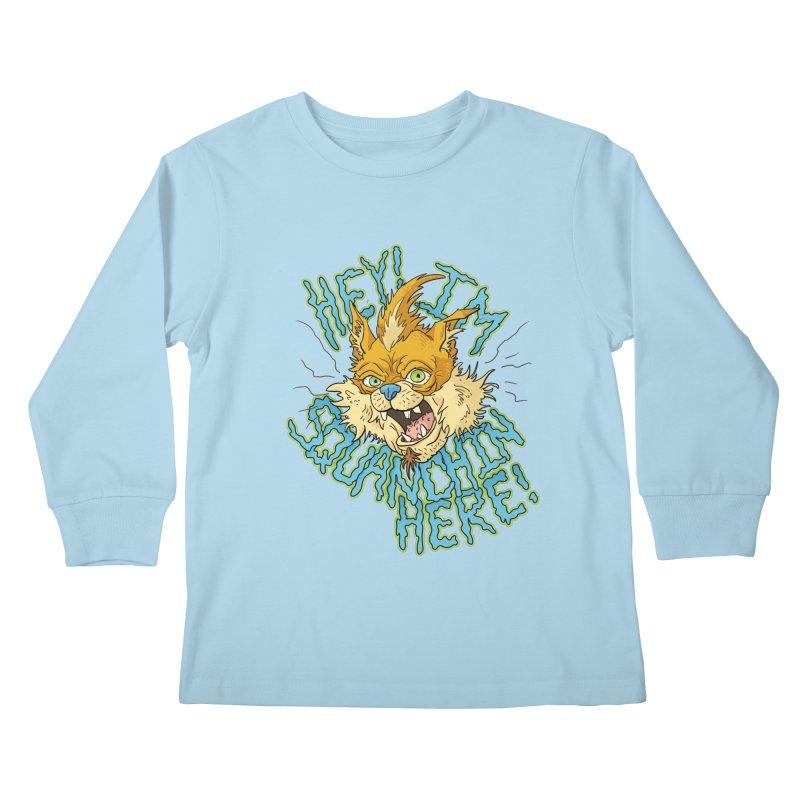 Squanchin' Here! Kids Longsleeve T-Shirt by Shannon's Stuff