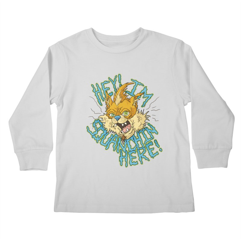 Squanchin' Here! Kids Longsleeve T-Shirt by Shannon's Stuff