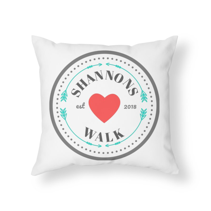 Shannons Walk Home Throw Pillow by shannonswalk's Artist Shop
