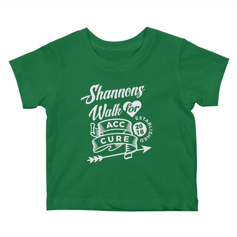 Walk T Shirt White Kids Baby T-Shirt by shannonswalk's Artist Shop