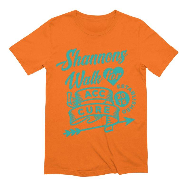 Walk T Shirt Teal Men's T-Shirt by shannonswalk's Artist Shop