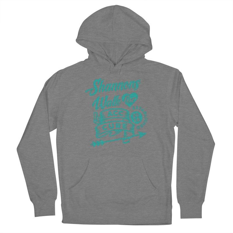 Walk T Shirt Teal Women's Pullover Hoody by shannonswalk's Artist Shop