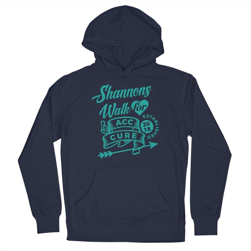 Walk T Shirt Teal Men's Pullover Hoody by shannonswalk's Artist Shop