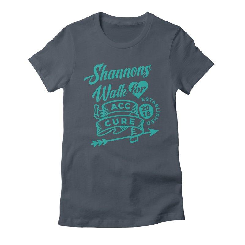 Walk T Shirt Teal Women's T-Shirt by shannonswalk's Artist Shop