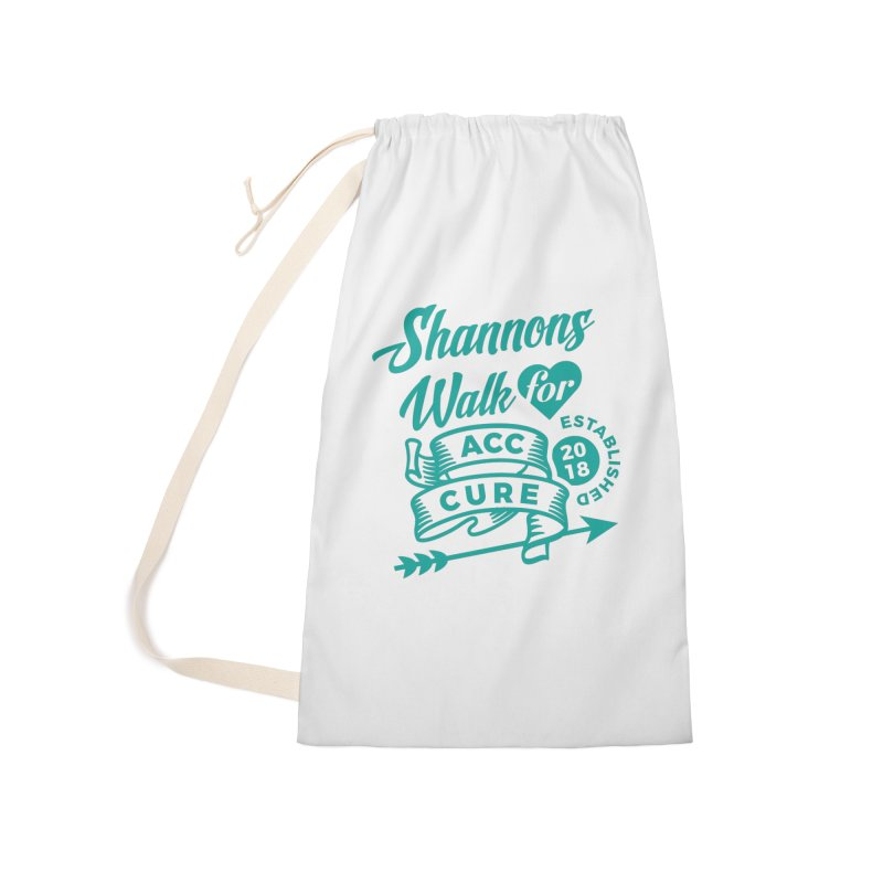 Walk T Shirt Teal Accessories Bag by shannonswalk's Artist Shop