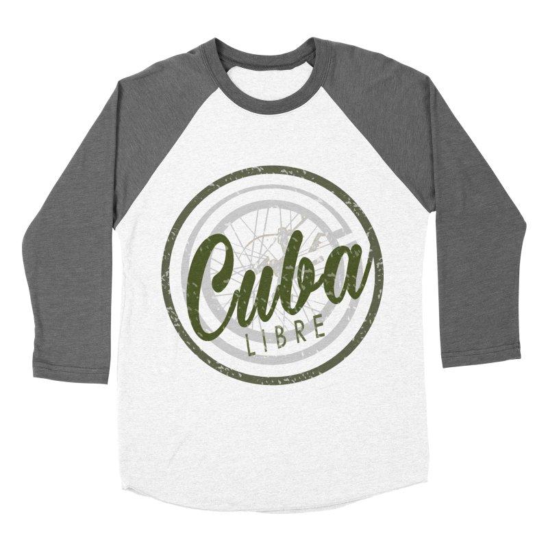 Cuba Libre Women's Baseball Triblend T-Shirt by shaoart's Artist Shop