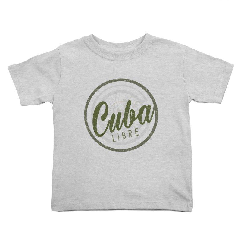 Cuba Libre Kids Toddler T-Shirt by shaoart's Artist Shop