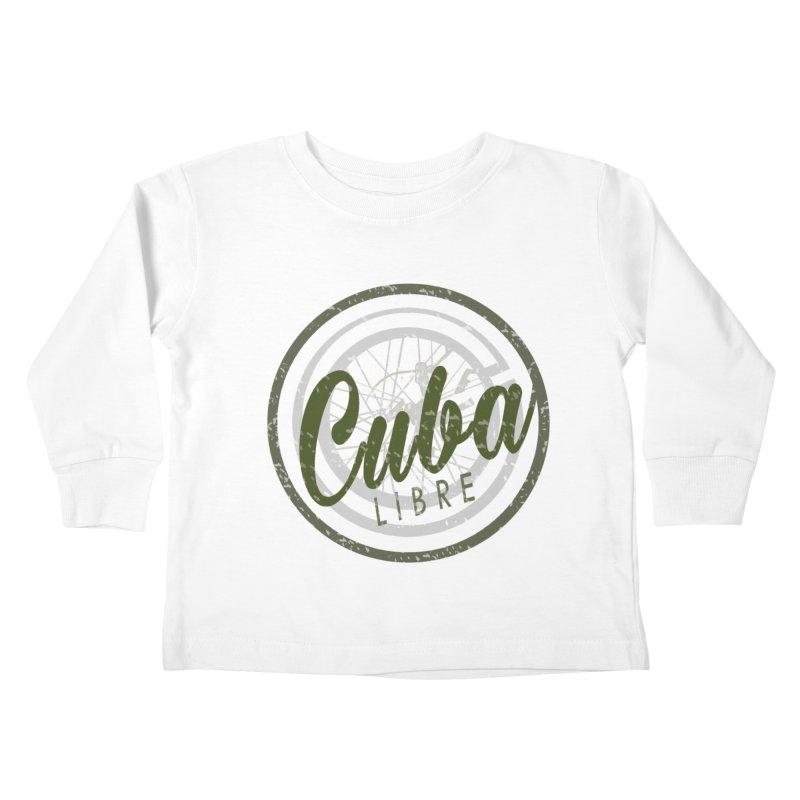 Cuba Libre Kids Toddler Longsleeve T-Shirt by shaoart's Artist Shop