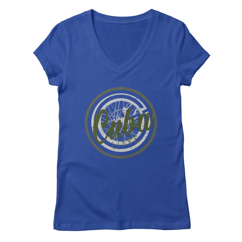 Cuba Libre Women's V-Neck by shaoart's Artist Shop