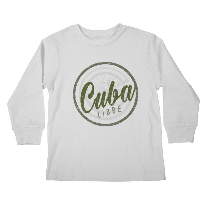 Cuba Libre Kids Longsleeve T-Shirt by shaoart's Artist Shop