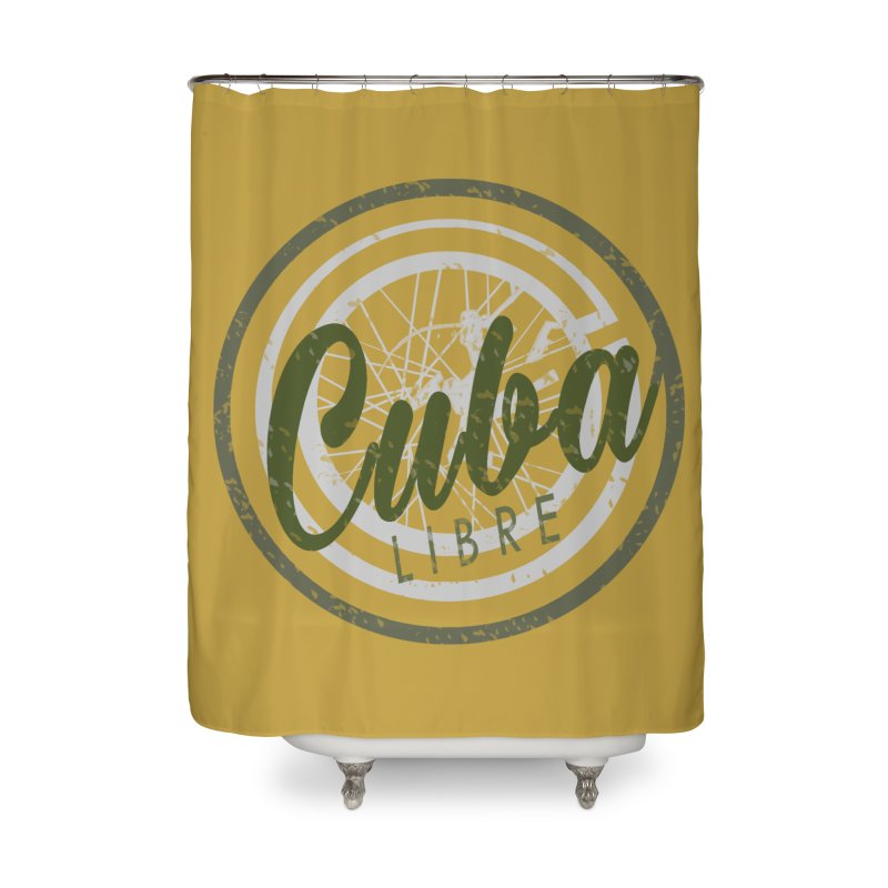 Cuba Libre Home Shower Curtain by shaoart's Artist Shop