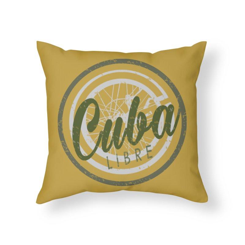 Cuba Libre Home Throw Pillow by shaoart's Artist Shop