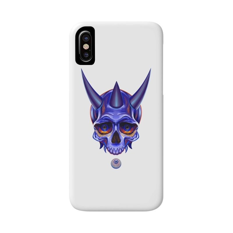 Skull Mask n1 Accessories Phone Case by shaoart's Artist Shop