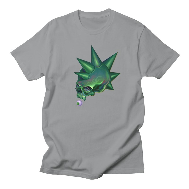 Skull Mask n2 Men's T-shirt by shaoart's Artist Shop